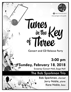 Tunes in the Key of Three Poster